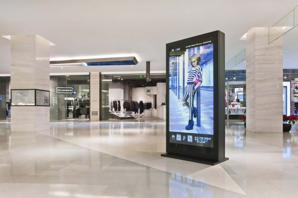 Integrated digital signage helps retail resurgence